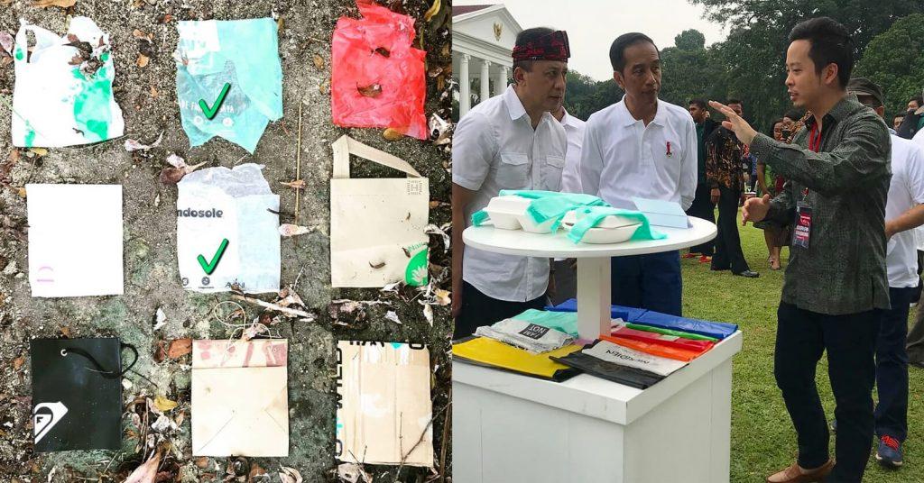 En Bali, Indonesia, fue donde crearon una bolsa biodegradable hecha con resinas de yuca