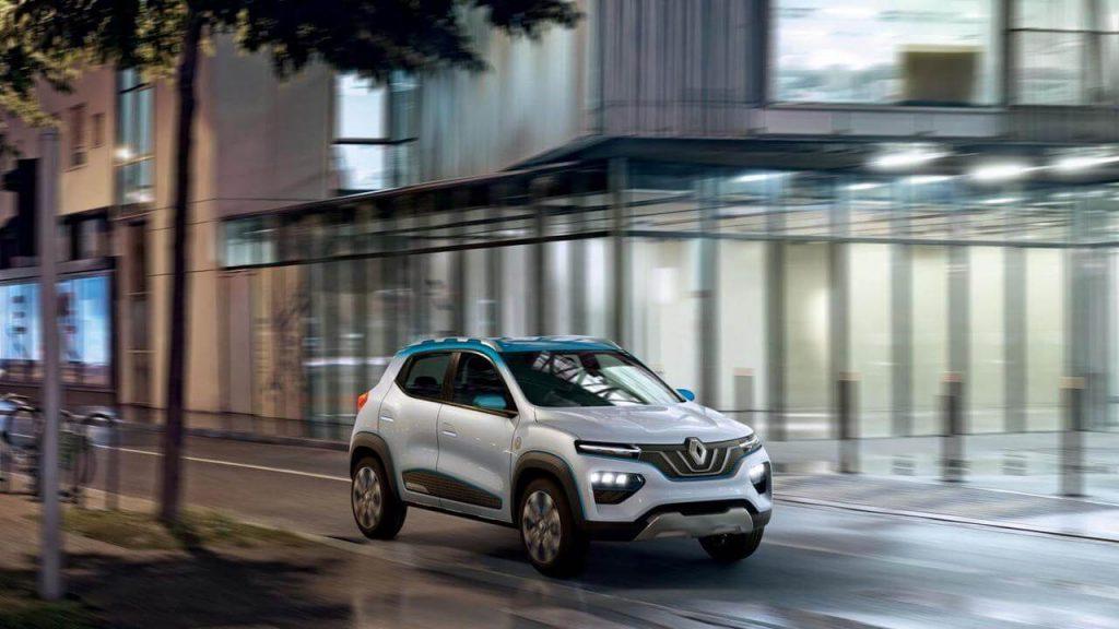 Renault K-ZE, el coche eléctrico de bajo costo de Renault