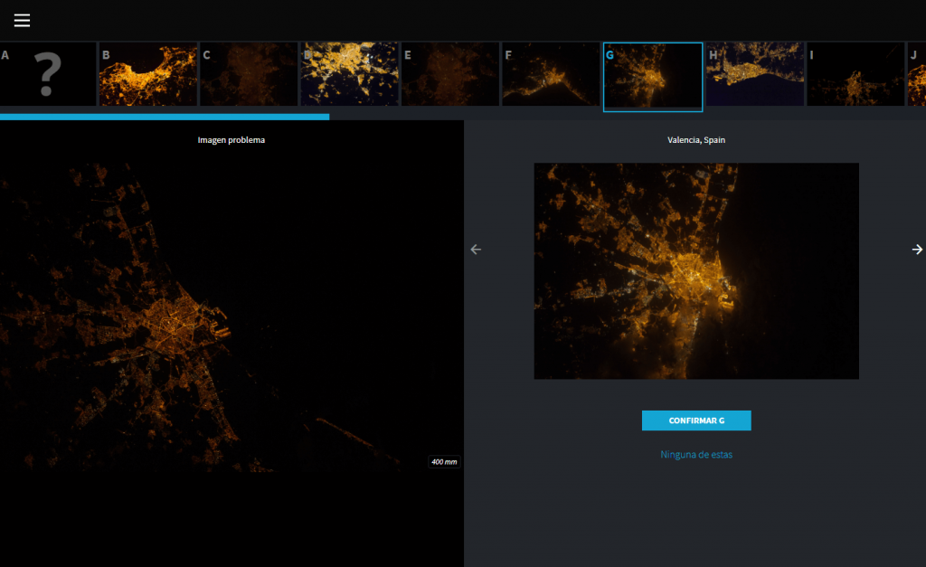Con esta aplicación podrás ayudar a la NASA a reducir la contaminación lumínica, Lost at Night