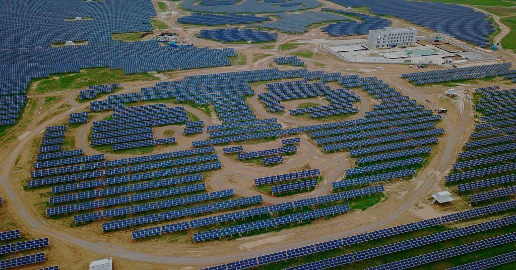 Plantas de energía solar fotovoltaica más grandes del mundo, Parque Solar Datong