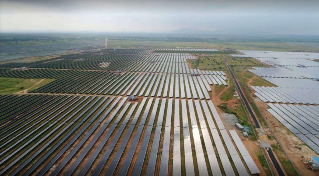 Plantas de energía solar fotovoltaica más grandes del mundo, Parque-Solar-Pavagada