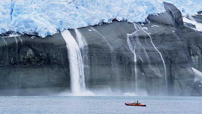 Deshielo y aumento del nivel del mar, situación actual de la tierra.